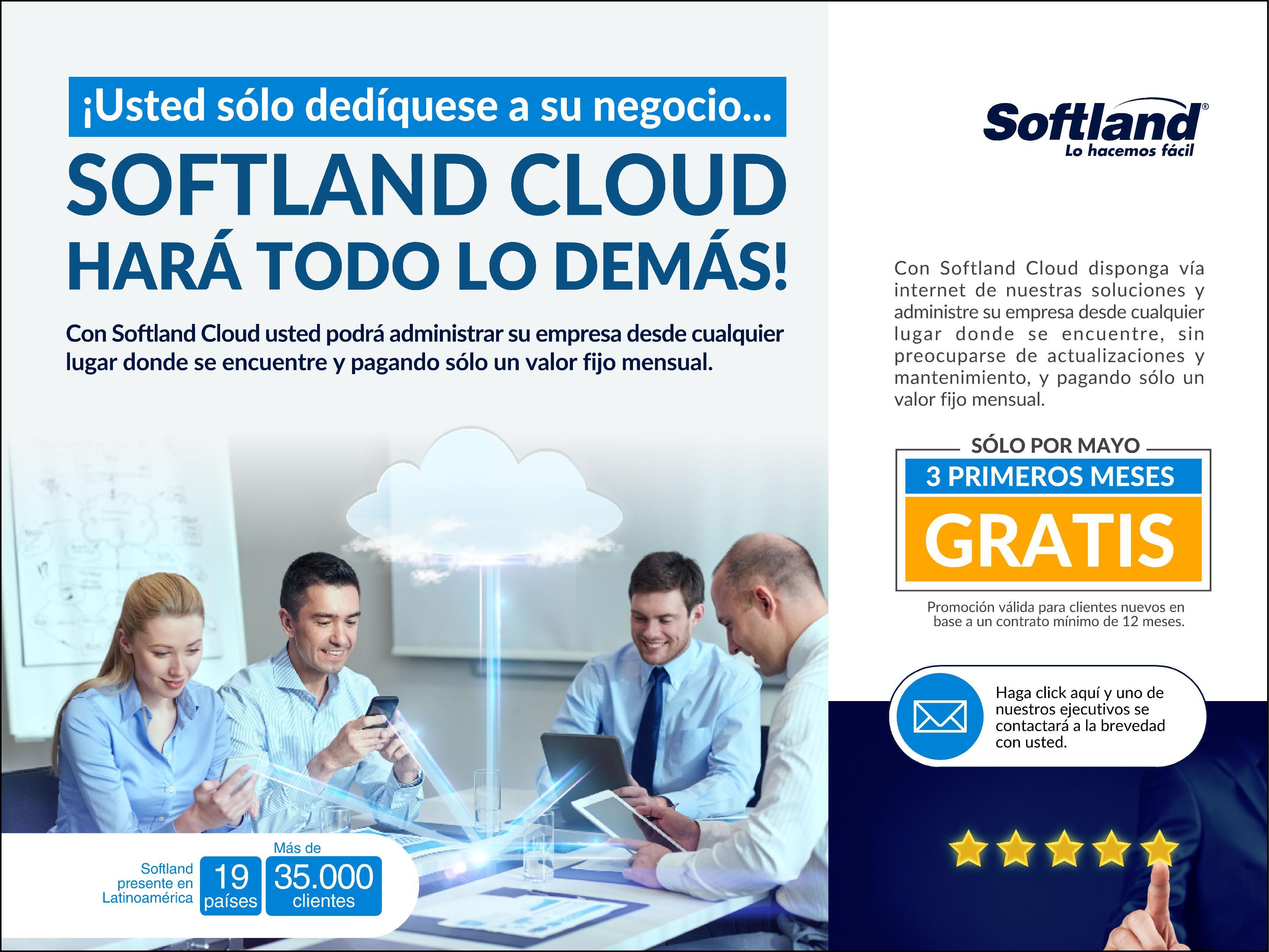 Promoción Softland Mayo