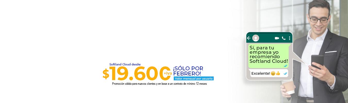 Para tu empresa, Softland Cloud!
